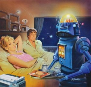 Soirée travail et robotique