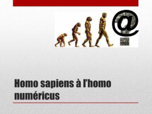 Homo sapiens homo numericus